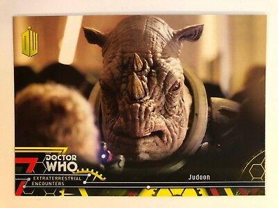 2016 Doctor Who Extraterrestrial Encounters #34 Judoon YELLOW NrMint-Mint