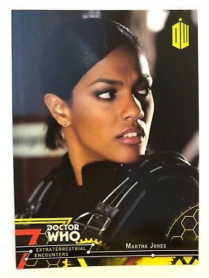 2016 Doctor Who Extraterrestrial Encounters #20 Martha Jones YELLOW NrMint-Mint