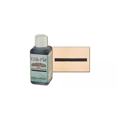 Tandy Leather Eco-flo Edgeflex Edge Paint 8.5 Fl. Oz. (250ml) Black 2810-01 - E