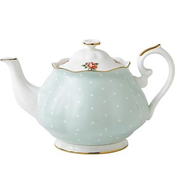 Royal Albert Polka Rose Vintage Teapot 1.25L