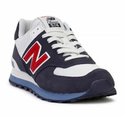 NEW BALANCE 574 Classics Sneakers ML574ESC Navy/White/ Red Men's Size 11