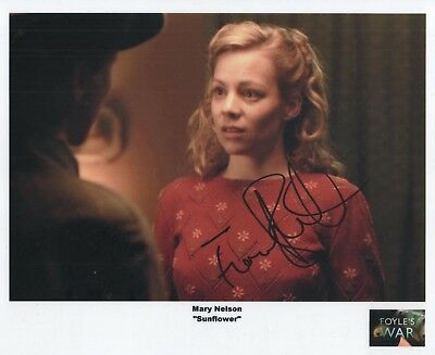 "Foyles War Auto Photo Print Fiona Button ""Mary Nelson"""