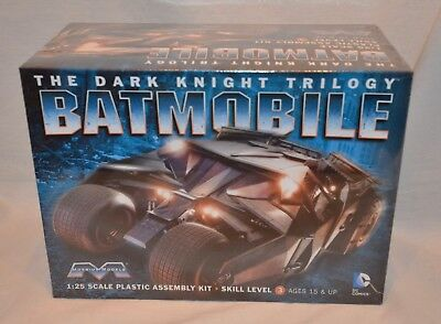 Moebius Models Dark Knight Rises Batman Bat-Pod 1:25 Model Kit New
