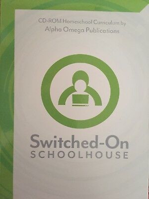 SOS Switched-On Schoolhouse (CD-Rom, Install Discs 1-2, French I)