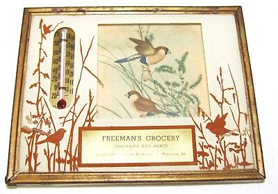 Havana, Il.--Advertising Thermometer--Freeman's Grocery--1950
