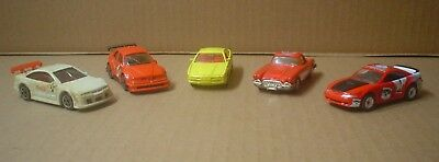 5 Coca-Cola Vehicles ~ Mustang, BMW, Corvette ~ Matchbox ~ Majorette