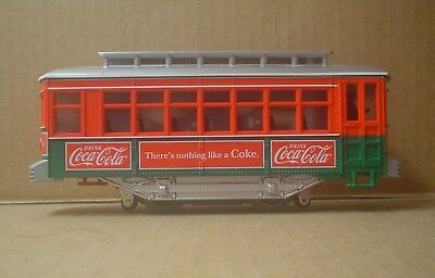 Coca Cola / Lionel O-27 Scale Motorized Trolley ~ Untested