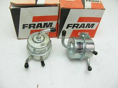 FRAM G3893 Fuel Filter Dodge Charger Omni Plymouth Horizon Tourismo 1984-1986