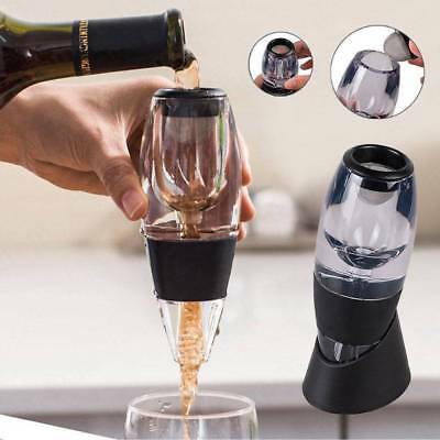 ^Red Wine Aerator Pour Spout Bottle Stopper Decanter Pourer Aerating Filter 2018