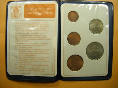 3398 GB First Decimal coin Set