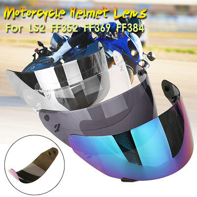 Full Face Helmet Lens Visor Shield Glass Motorcycle For LS2 FF369 FF352 FF384