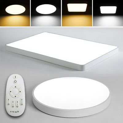 LED Ceiling Light Dimmable Ultra Thin Flush Mount Kitchen Lamp Home Fixture NEW