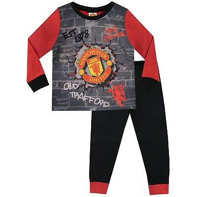 Manchester United FC Pyjamas | Kids Man United Football PJ | Boys United F.C. PJ