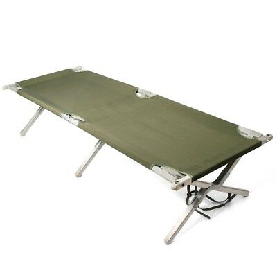 US Army Military Army Alu Folding cot Feldbett Bett