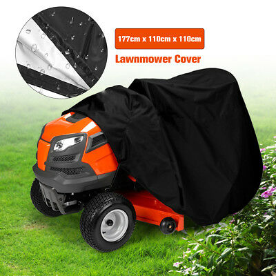 """70"""" Waterproof Lawn Mower Tractor Cover Garden Outside Yard Riding UV Protector"""