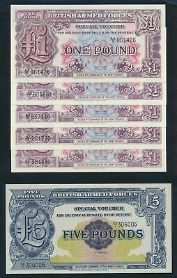 """Great Britain: BRITISH ARMED FORCES 1948-72 """"COLLN OF 20 BY PREFIX"""". UNC Cat $89"""
