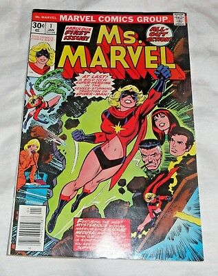 Ms. Marvel #1 1st Ms Marvel Hot issue