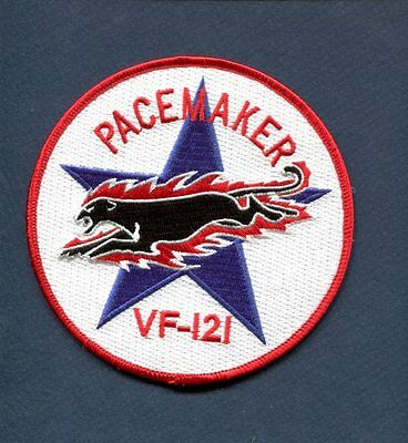 VF-121 PACEMAKERS US NAVY McDONNELL F-4 PHANTOM Fighter Squadron Patch