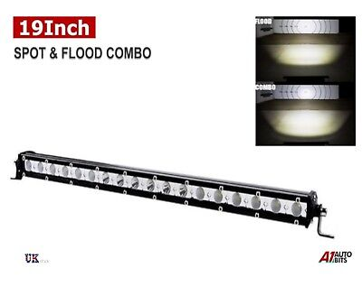 19 Inch 54W LED Slim Work Light Bar Spot Flood Combo Off-Road Driving SUV 4x4