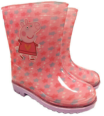 Childrens Shimmer & Shine Girls Wellington Boots Beach Wellies Kids Water Proof