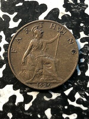 1920 Great Britain 1 Farthing (3 Available) Circulated (1 Coin Only)