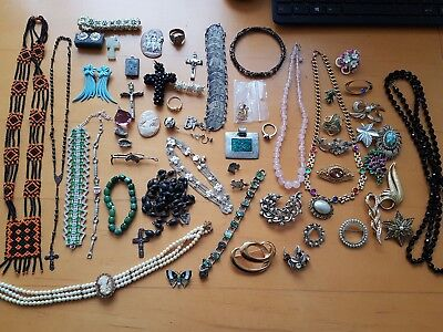 Antique And Vintage Huge Collection Of Jewellery