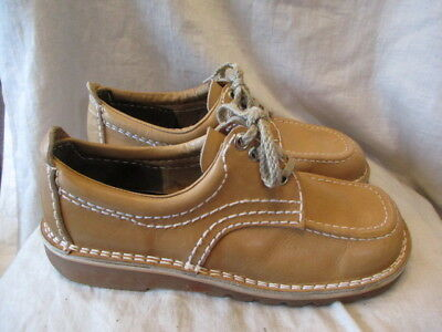 Brown leather shoes size 8 by Leather Mates