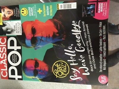 classic pop magazine september 2018 soft cell marc almond pet shop boys
