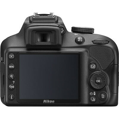 Nikon D3400 DSLR Camera with 18-55mm Lens (Black) w/ 16GB MC & C.K *1571*