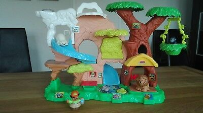 Fisher-Price Little People Zoo für Zoo Talkers, Tiererkennung