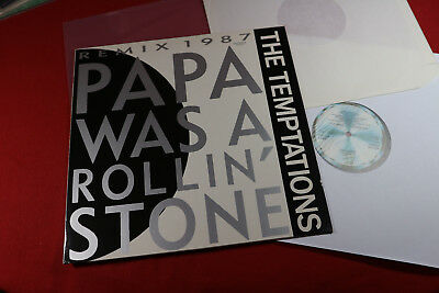 The Temptations  PAPA WAS A ROLLING STONE (Remix) - 12'' Maxi Motown Germany