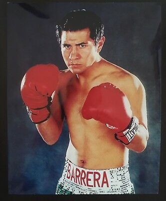 Superb Photo Of The Legendary Multi Weight Champ Marco Antonio Barrera In Pose!!