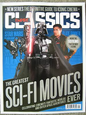 Empire Classics Greatest Sci-Fi Movies Ever Star Wars Trek Jurassic Park ET