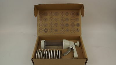 The Pampered Chef Cookie Press 1525 In Original Box