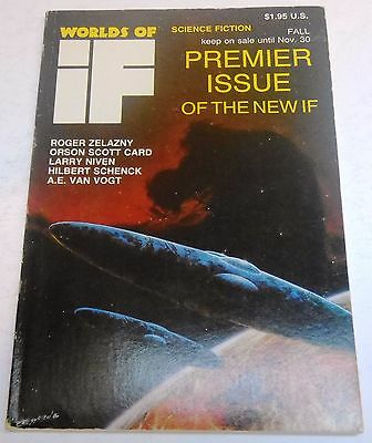 Worlds of If Science Fiction – US Digest – Fall 1986 - A.E. van Vogt, Salmonson
