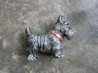 Vintage Scotty dog Strikalite metal lighter