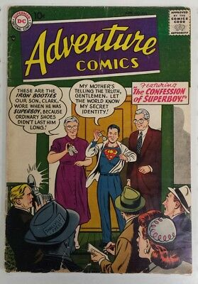 ADVENTURE COMICS #235 - Silver Age - DC - 1957 - GOOD 2.0