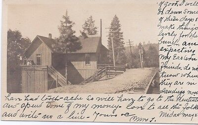 1909 TOWLE California RPPC POSTCARD Placer County SOUTHERN PACIFIC RAILROAD