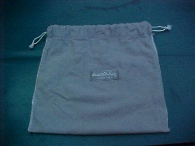 """Vtg Old Marshall Field & Co. Steuben Glass Cloth Bag Only 10"""" X 9.5"""" Dust Cover"""