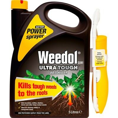 Weedol Ultra Tough Weedkiller, 5l Power Spray