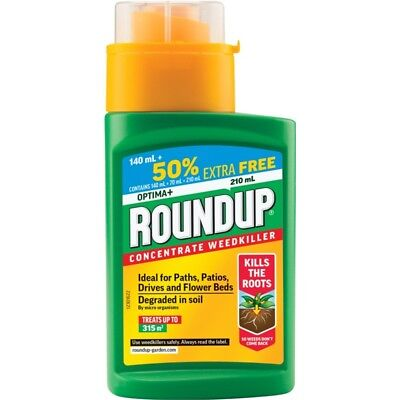 Roundup Optima+, 140ml Plus 50% Extra Free