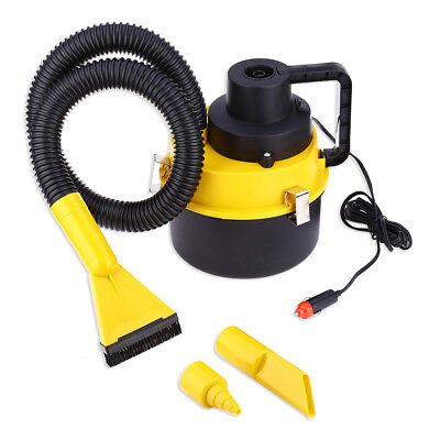 12V Automobile Vacuum Cleaner Large Capacity Car Air Inflation Three Sucker