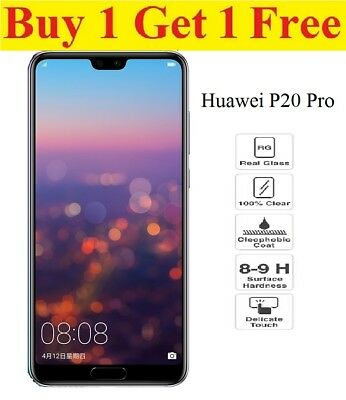For Huawei P20 Pro Lite Tempered Glass Screen Protector Premium Protection/NEW
