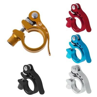 28.6 Seat Seatpost Clamp Quick Release MTB Cycling Bike Accessory Aluminum Alloy