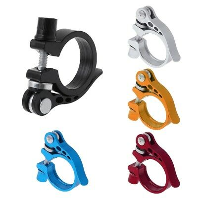 34.9 Seat Seatpost Clamp Quick Release MTB Cycling Aluminum Alloy Bike Accessory
