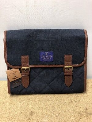 1008 BNWT Mens Ted Baker Cosmetic Travel Case