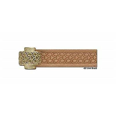 Tandy Leather Craftool Pro Embossing Wheel Link Braid 8092-02