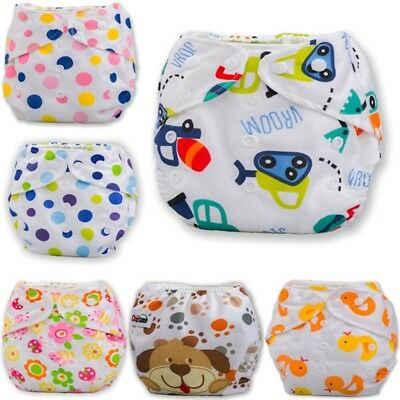 Infant Baby Adjustable Diaper Reusable Washable Cloth Diaper Pocket Nappy Cover