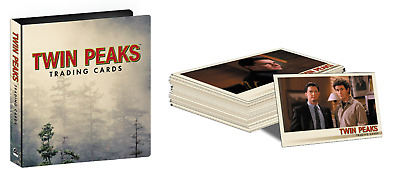 2018 Twin Peaks Trading Cards 90 Card Base Set and Collector's Album / Binder