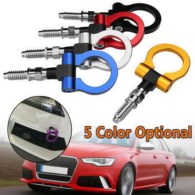 Auto Racing Trailer Ring Tow Towing Hook For BMW Mercedes-Benz Audi European Car